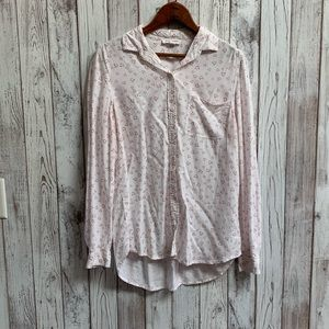 Beachlunchlounge button up white/heart shi…